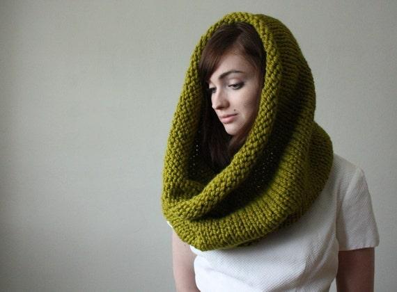 moss circle scarf