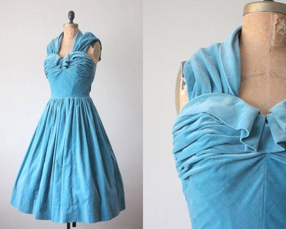 1950s dress - vintage 1950's adriatic bombshell cocktail dress