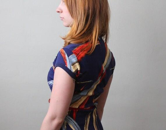 vintage 1970's day dress