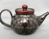 Personal Teapot with Geometric Pattern