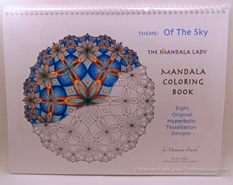 Of the Sky Mandala Coloring Book