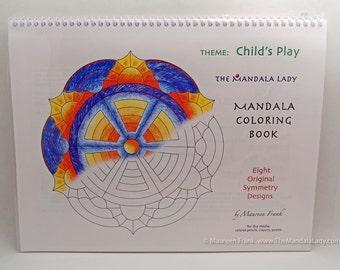Child's Play Mandala Coloring Book