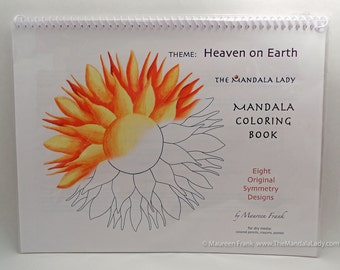 Heaven on Earth Mandala Coloring Book