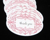 Thank You Gift Tags Set of 50