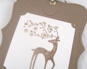 Reindeer Holiday Hanging Gift Card Holder