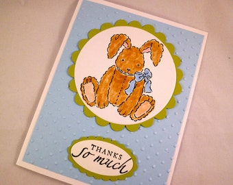 Baby Bunny Thank You Notes Set of 10