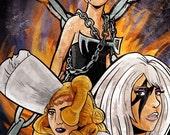 Pop Villain - Lady GaGa Print 13x19