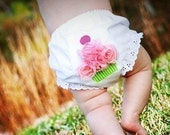SWEET CHEEKS - Cupcake Bloomers or Diaper Cover - ANY COLOR COMBO