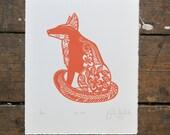 Mr. Fox ScreenPrint