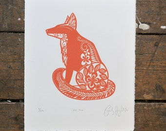 Mr. Fox ScreenPrint