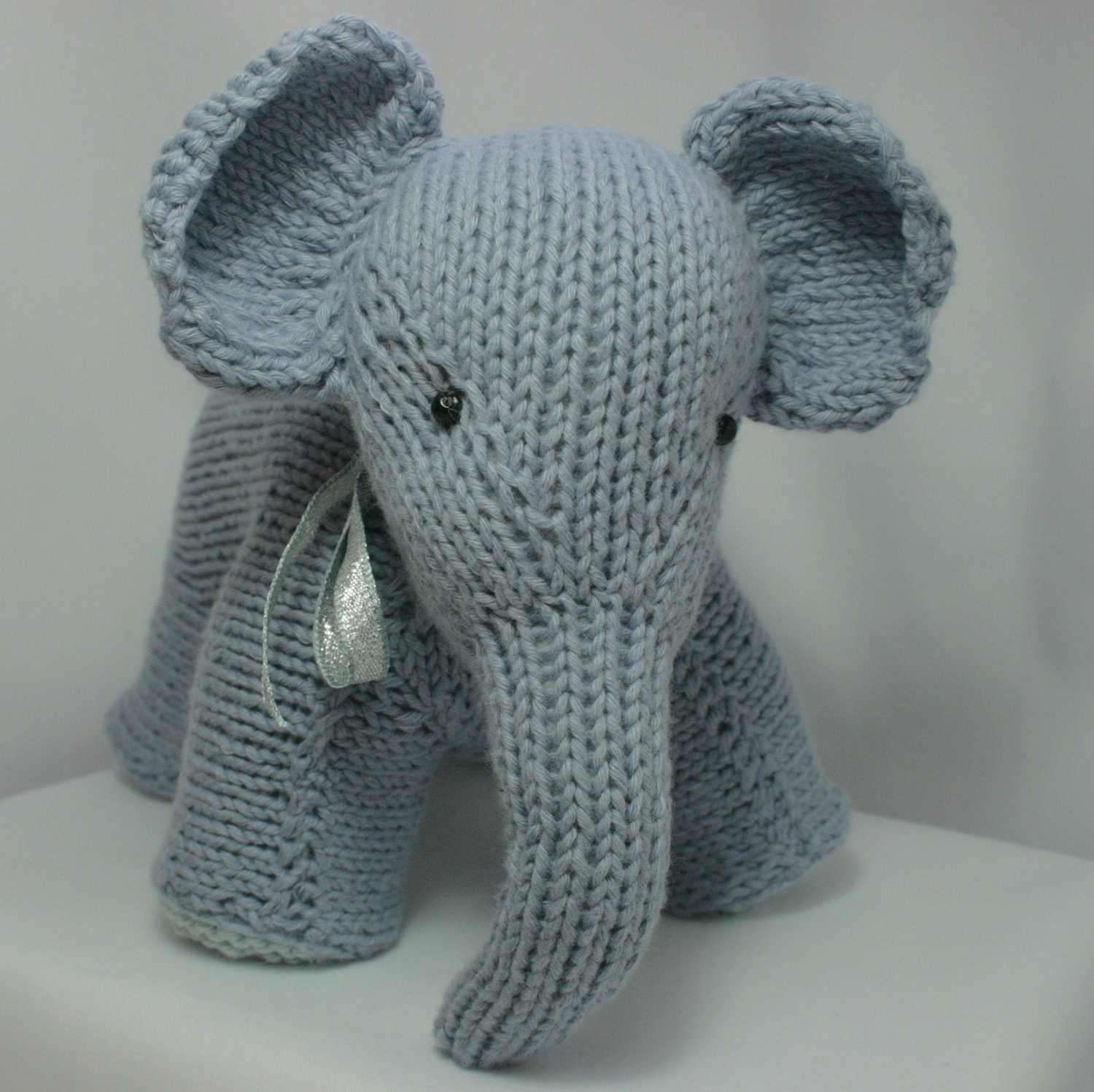 Cotton Knitted Elephant