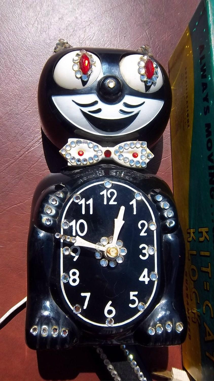 Items Similar To Vintage Kit Kat Clock Retro Housewares