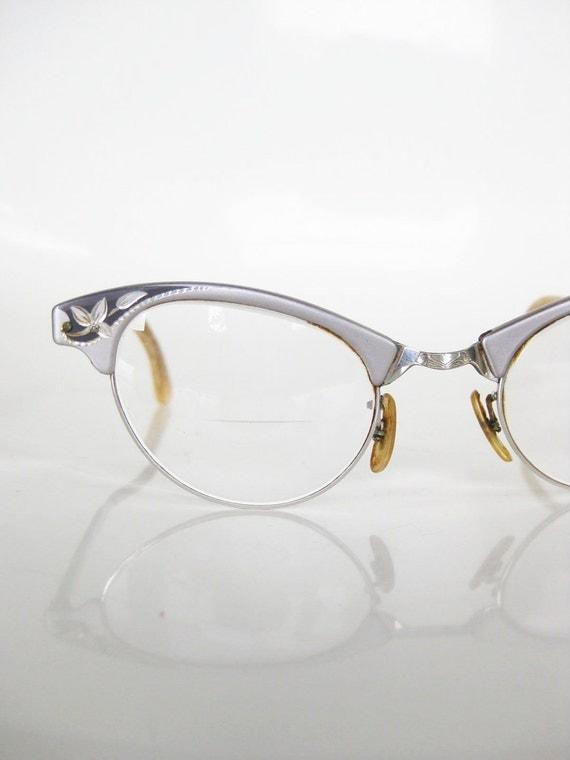 vintage cat eye craft eyeglasses glasses optical frames