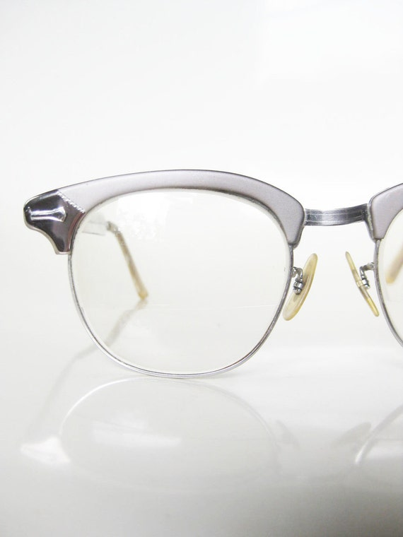 Vintage Shuron Eyeglass Frames : Vintage 1950s CAT EYE Shuron Eyeglasses Glasses by ...