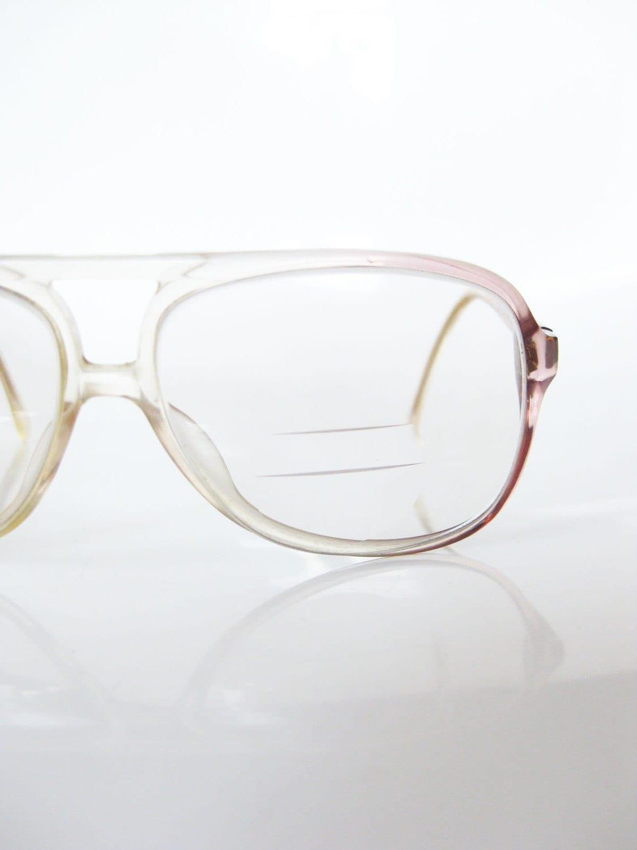 Glasses Frames Pink : Vintage BABY PINK Oversized Eyeglasses Womens by ...
