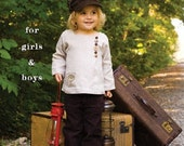 SALE  Woodlands Shirt PATTERN for Boys or Girls by Sew Liberated  Embroidery Buttons LOW Shipping