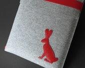 15 inch Macbook Pro sleeve RED RABBIT