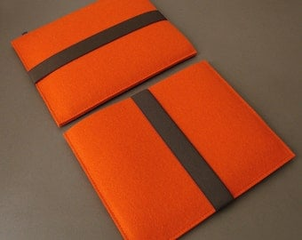 iPad Air sleeve iPad sleeve orange