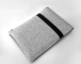 15 Macbook Pro felt sleeve 13  Mac Book Pro sleeve WOLF german felt sleeve