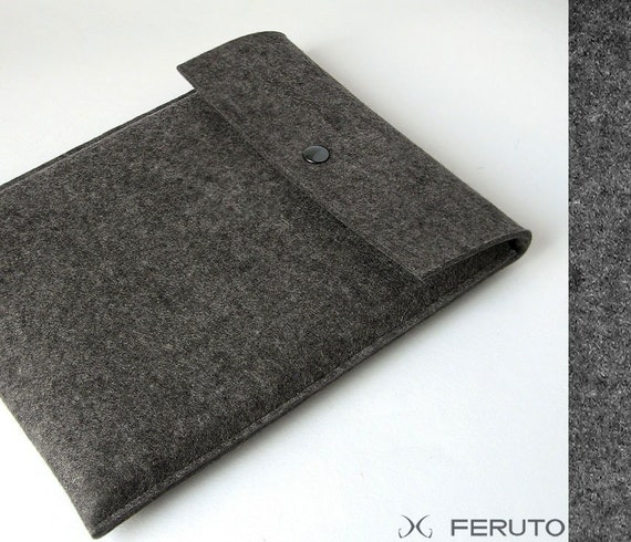 WOLF iPad sleeve genuine german felt