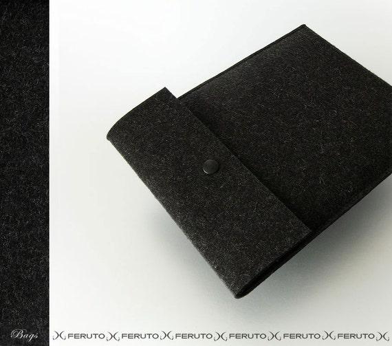 iPad 1 2 3 4 sleeve WOLF german felt iPad case