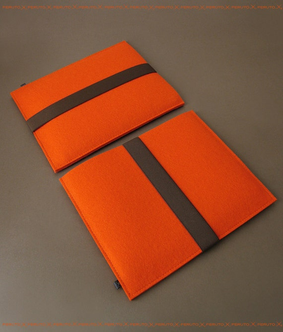 iPad Air sleeve iPad sleeve orange