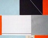 PRAVDA 7 . original abstract painting / ELSTON
