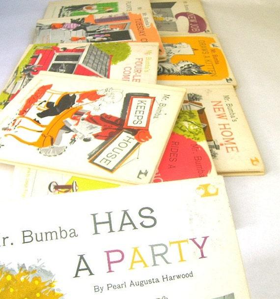 Set of Mr Bumba Childrens Books