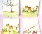 HALF PRICE - SALE - Windows to Wonderland - Set of 4 fairytale pictures