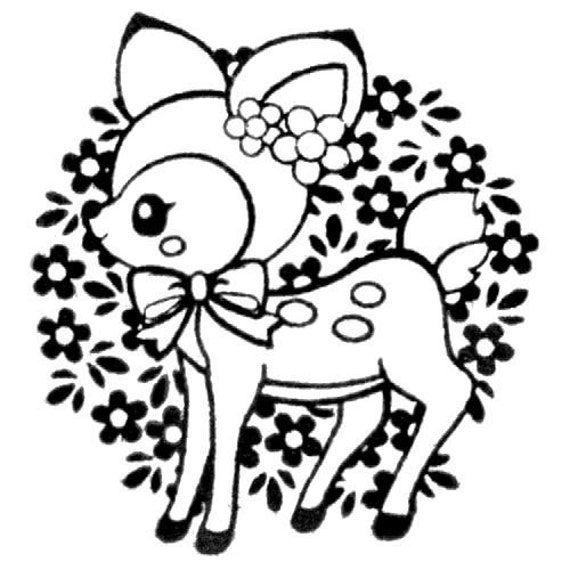 Cute Bambi Drawings Images