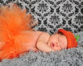 Sweet little pumpkin hat