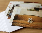 Dog Portrait Series 1, Blank Notecards, Set of 10