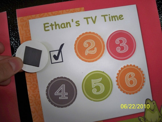 Children's TV Time Chart