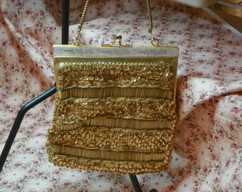 Golden Formal Purse