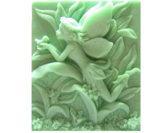 Fairy Soap - Organic Soap - Decorative Soap  -  Soaps -  Glycerin Soap  -  Natural Soap  -  Essential Oil Eucalyptus Spearmint