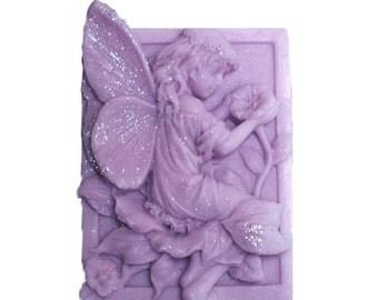 Lavender Soap - Organic Soap - Glycerin Soap  -  Fairy Soap - All Natural Soap  -  Moisturizing Soap - Lavender Essential Oil Scent