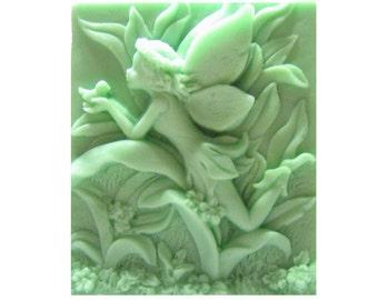 Fairy Soap -  Organic Soap -  Decorative Soap  -  Glycerin Soap  -  Natural Soap -  Moisturizing Soap - Essential Oil Eucalyptus Spearmint