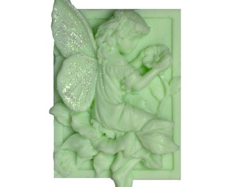 Fairy Soap - Organic Soap - Green Soap - Soap -  Decorative Soap - Glycerin Soap  - Natural Soap - Essential Oil Eucalyptus & Spearmint