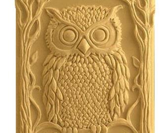 Owl Soap - Decorative Gift Soap  -  Organic  Soap -  Glycerin Soap - Natural Soap - Moisturizing Soap  -  Honey Almond Scent