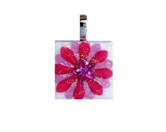 Birthstone Pendant - Jewelry Pendants -  Ruby Pendant -  July Birthday -  Birthday Gifts
