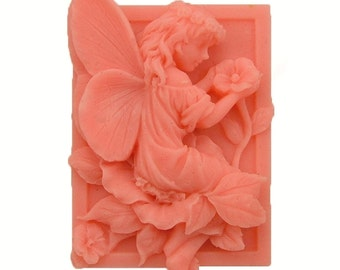 Fairy Soap -  Organic Soaps - Decorative Soap  -  Natural Soaps -  Glycerin Soap   -  Tangerine Color -  Essential Oil Orange
