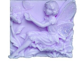 Lavender Soaps - Vegan Soaps - Decorative Soaps  -  Glycerin Soaps  - Fairy Soaps   -  Moisturizing Soaps - Lavender Essential Oil Scent
