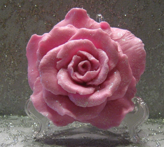 Shabby Chic  Roses - Shabby Chic Soap -  Pink Roses -  Rose Soap - Organic Soap - Vegan Soap  -  Moisturizing Soap  - Rose Scent