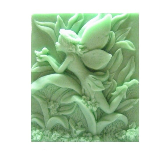Fairy Soap -  Organic Soaps - Decorative Soap  -  Soaps -  Glycerin Soap  -  Natural Soap -  Green Soap -  Fragrance Oil Lily Of The Valley