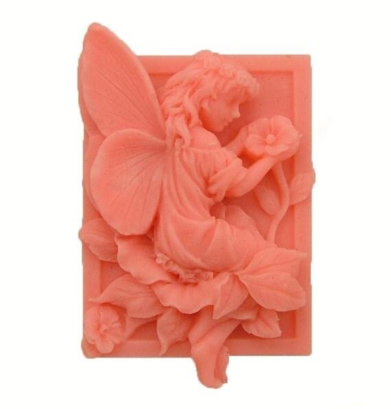 Fairy Soap -  Organic Soaps - Decorative Soap  -  Natural Soap - Glycerin Soap  -  Skin Care  - Fragrance Oil Peaches & Cream