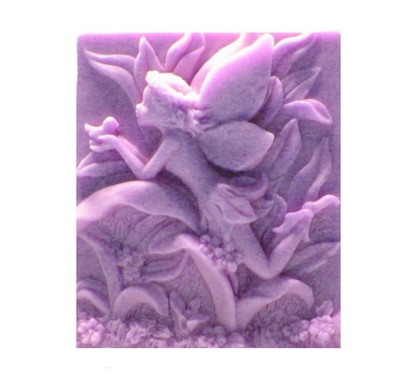 Fairy Soap - Organic Soaps - Lavender Soaps - Decorative Soaps - Soap - Natural Soap - Glycerin Soap - Essential Oil  Lavender