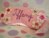 Personalized Princess Sleeping Mask Goggles - Made To Order