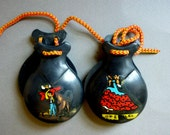 SALE Spanish Playing Castanets