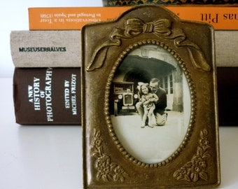 Like Art Deco Brass Photo Frame