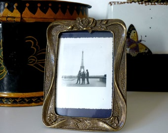 Mother Brass Photo Frame